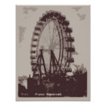 Ferris Wheel, Vienna 1939 Poster