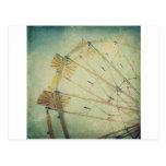 Ferris Wheel Vintage Print Post Cards