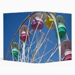 Ferris wheel vinyl binders