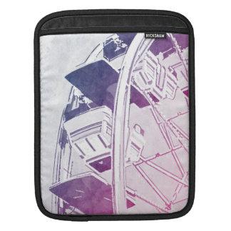 Ferris Wheel Watercolor iPad Sleeves