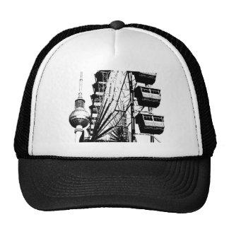 Ferris Wheel with Berlin TV Tower, Alex Trucker Hat