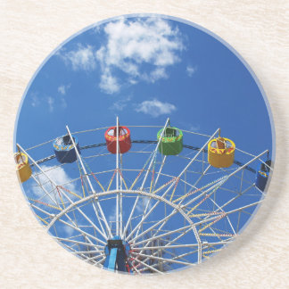 Ferris wheel without visitors coaster