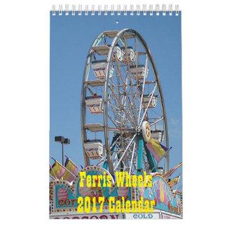 Ferris Wheels Calendar 2017