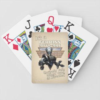 Ferriss Moto-Man Playing Cards