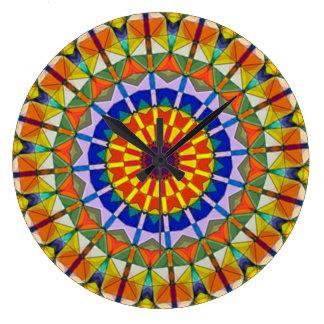 Ferriswheel Kaleidoscope Wall Clock