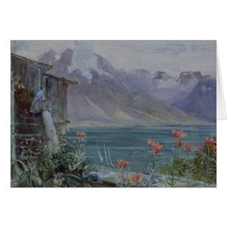 Ferritet, Lake Geneva, 1882 Card