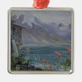 Ferritet, Lake Geneva, 1882 Metal Ornament