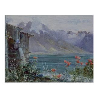 Ferritet, Lake Geneva, 1882 Postcard