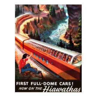 Ferrocarril americano del vintage, los E.E.U.U. - Tarjeta Postal