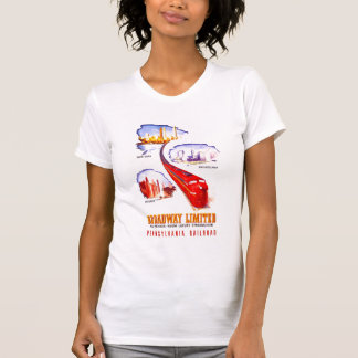Ferrocarril Broadway Streamliner limitado de Penns Camiseta