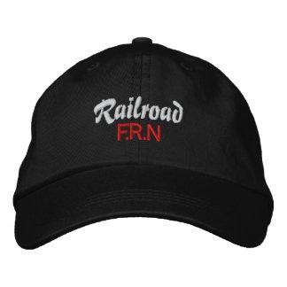Ferrocarril, casquillo de F.R.N Gorro Bordado