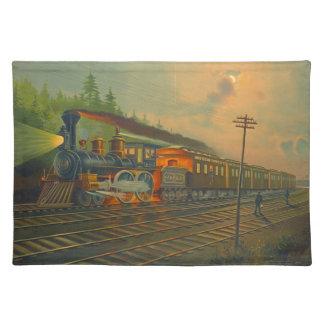 Ferrocarril central 1884 de Nueva York Manteles Individuales