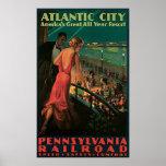 Ferrocarril de Atlantic City Pennsylvania Posters