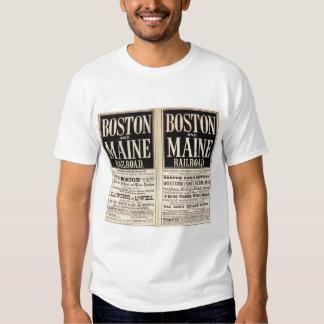 Ferrocarril de Boston y de Maine Polera