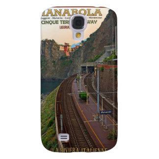 Ferrocarril de Cinque Terre - Manarola
