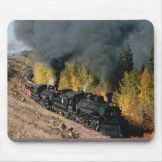 Ferrocarril de Cumbres y de Toltec, no. 487 y no.  Tapetes De Ratones