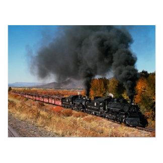 Ferrocarril de Cumbres y de Toltec, no. 487 y no.  Postal