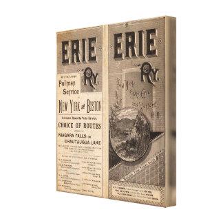 Ferrocarril de Erie Lona Estirada Galerías