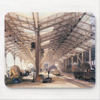 Ferrocarril de Great Western: Carga vertida en Bri Alfombrillas De Ratones