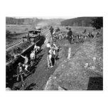 Ferrocarril de la guerra civil en Clifton, Virgini Postal