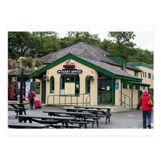 Ferrocarril de la montaña de Snowdon País de Gale Tarjetas Postales