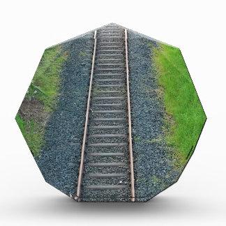 Ferrocarril de la pista del tren en la naturaleza,
