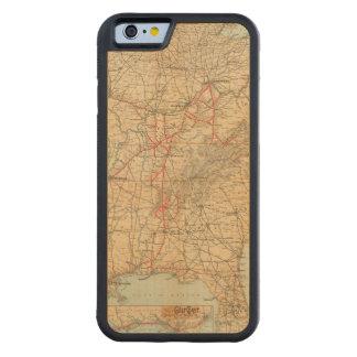 Ferrocarril de Louisville y de Nashville Funda De iPhone 6 Bumper Arce