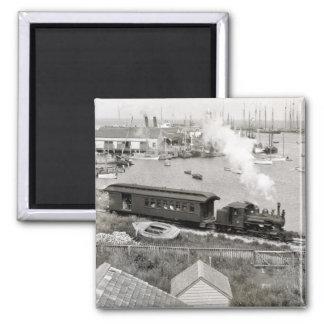 Ferrocarril de Nantucket Imán Cuadrado