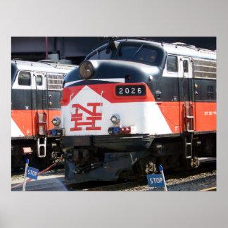 Ferrocarril de New Haven (PUNTO) de la c FL los 9M