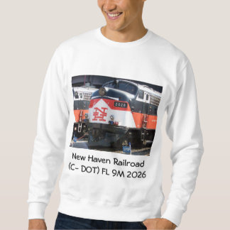 Ferrocarril de New Haven (PUNTO) de la c FL los 9M Suéter