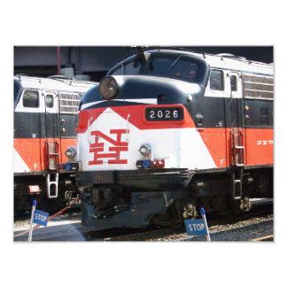 Ferrocarril de New Haven PUNTO FL los 9M de la c Impresión Fotográfica