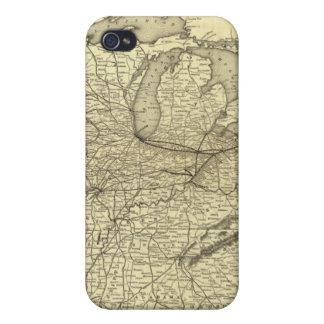 Ferrocarril de Nueva York, de Pennsylvania y de Oh iPhone 4/4S Fundas