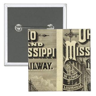 Ferrocarril de Ohio y de Mississippi Pins