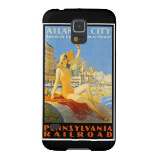Ferrocarril de Pennsylvania a Atlantic City Fundas Para Galaxy S5