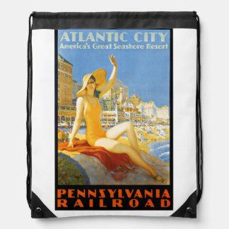 Ferrocarril de Pennsylvania a Atlantic City Mochila
