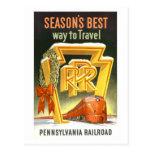 Ferrocarril de Pennsylvania del vintage Tarjetas Postales