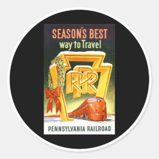 Ferrocarril de Pennsylvania, la mejor manera de la Etiqueta Redonda