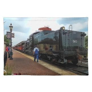 Ferrocarril de Placemat - de Strasburg Mantel