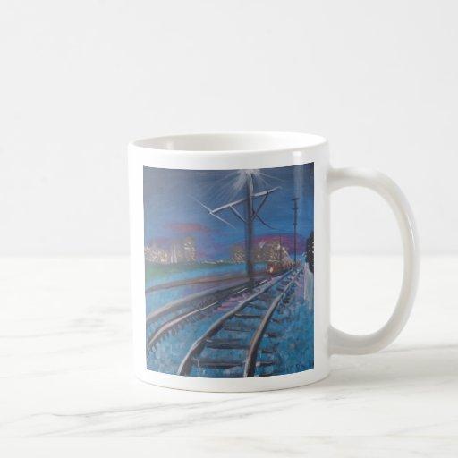 """Ferrocarril de Stan Levine """"New Orleans """" Taza"""