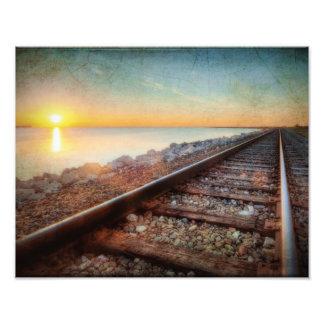 Ferrocarril de Tejas Arte Fotográfico