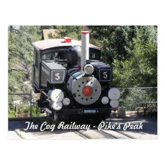 Ferrocarril del diente máximo de Pike de la locomo Postales