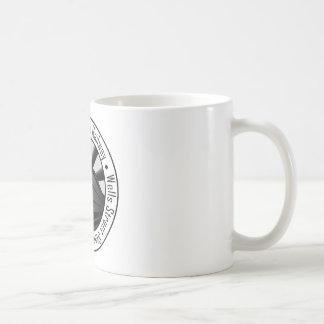 Ferrocarril del horizonte taza de café