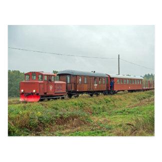 Ferrocarril del indicador estrecho de Hultsfred - Postales