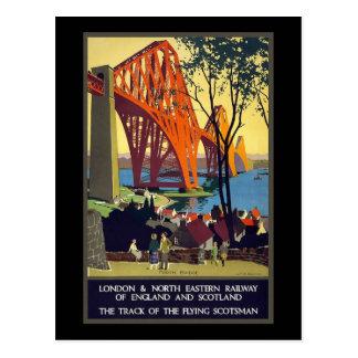 Ferrocarril del noreste de Inglaterra y de Escocia Postales