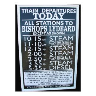 Ferrocarril del oeste de Somerset calendario de l Impresiones Fotográficas