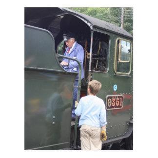 Ferrocarril del oeste de Somerset, estación de Postales