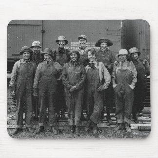 Ferrocarril del Pacífico de la unión de 1918 traba Tapetes De Ratón