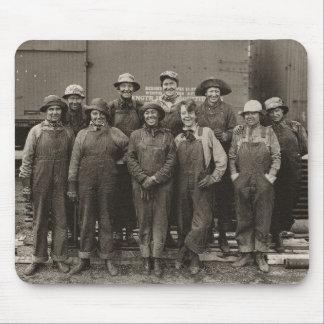Ferrocarril del Pacífico de la unión de 1918 traba Tapetes De Ratones