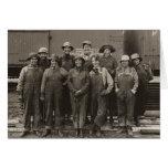Ferrocarril del Pacífico de la unión de 1918 traba Tarjeta