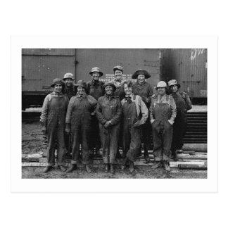 Ferrocarril del Pacífico de la unión de 1918 traba Postal
